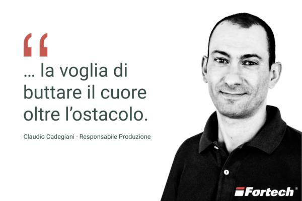 Fortech Team Claudio Cadegiani